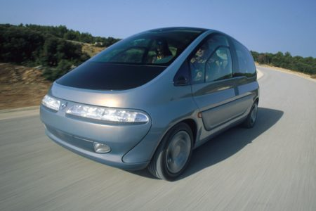 Evolution of the Renault Scenic