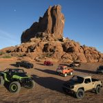 2016 Moab Easter Jeep® Safari concepts (from left to right): Je